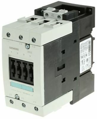 Siemens Sirius Classic 3RT1 3 Pole Contactor, 3NO, 65 A, 30 kW (AC3), 110 V ac C