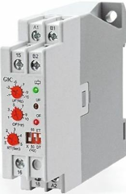 GIC Frequency Monitoring Relay with SPDT Contacts, 3 Phase, 220 â?? 440 V ac