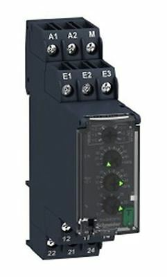 Schneider Electric Voltage Monitoring Relay with DPDT Contacts, 1 Phase, 60 â??
