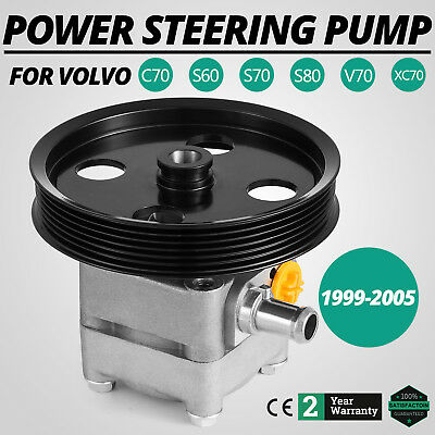 Power Steering Pump For Volvo C70 S60 S70 S80 V70 XC70 1999-2005 8683377 Front