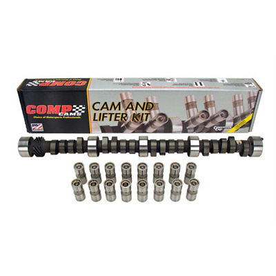 COMP Cams CL12-208-2 Dual Energy Hyd. Flat Tappet Camshaft and Lifter Kit Chevy
