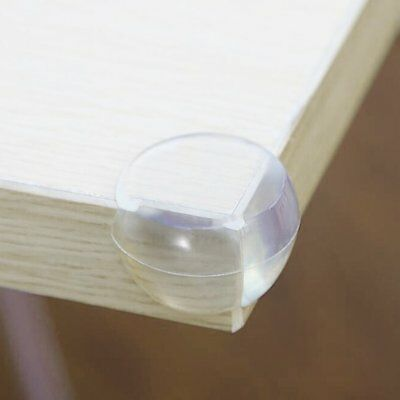 Baby Kid Safety Silicone Right Angle Furniture Protective Table Corner Cover AZ