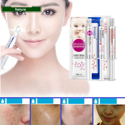 UK HYALURONIC ACID Injection Face Serum Liquid Anti Aging Collagen  Whitening R5