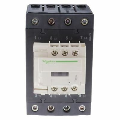 Schneider Electric Tesys D LC1D 4 Pole Contactor, 4NO, 80 A, 230 V ac Coil