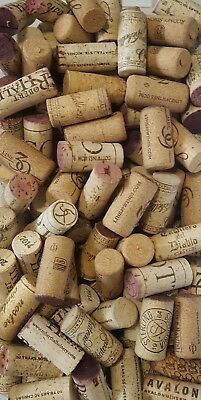 200 WINE CORKS variety of brands - USED - FREE shipping