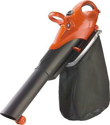 Flymo Scirocco Electric Garden Blower Vacuum With Shredding Ratio 10:1, 3000 W,
