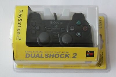 NEW Sony PlayStation2 Dualshock 2 Analog Controller black wired