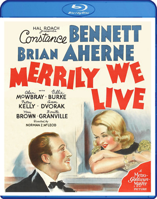 Merrily We Live (Blu-ray) RESTORED & w/Constance Bennett, Brian Aherne