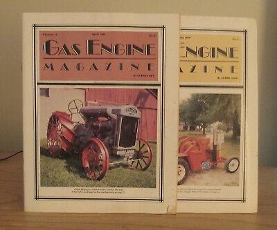 Lot Of 30+  The Gas Engine Magazine  Full Years 1982 1983 1984 1985 & more