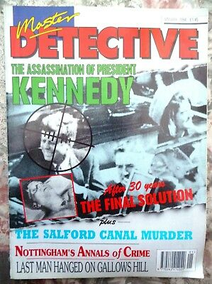 Master Detective Magazine.  Jan.1994.  51 Pages True Stories.  Good Condition.