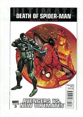 Ultimate Avengers VS. New Ultimates #3 NM- Death of Spider-Man Tie-In