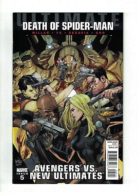 Ultimate Avengers VS. New Ultimates #5 NM- Death of Spider-Man Tie-In