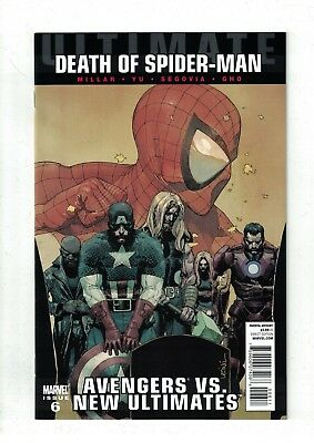 Ultimate Avengers VS. New Ultimates #6 NM- Death of Spider-Man Tie-In