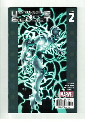 Ultimate Secret #2 VF/NM Steve McNiven