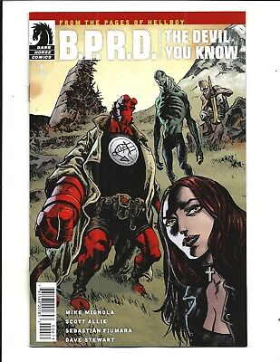 B.P.R.D. THE DEVIL YOU KNOW #6 (DARK HORSE, May 2018), NM NEW