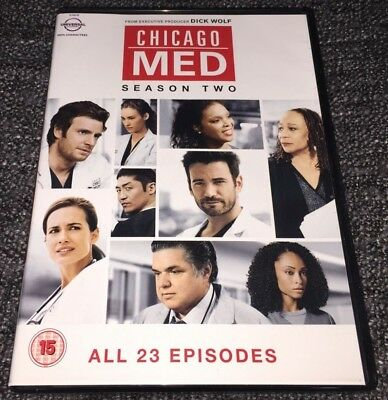 Chicago MED DVD Boxset The Complete Season Two (Series 2)(2017, 6-Disc Set)