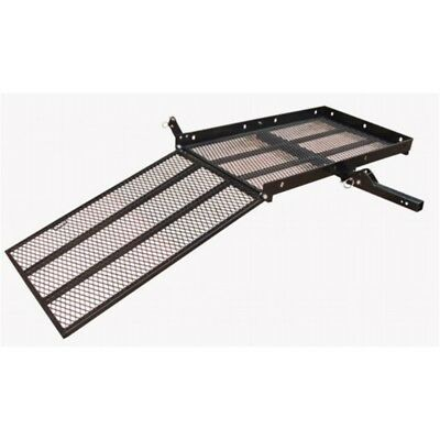 ALEKO Wheelchair Power Scooter Folding Cargo Carrier Rack Foldable Ramp 500LB