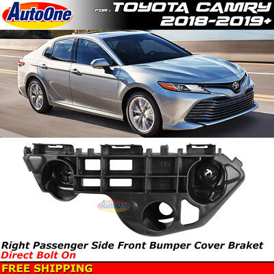 Front Bumper Support Bracket Retainer for Toyota Camry 2018-2019 Right Passenger