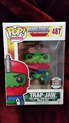 Masters Of The Universe Trap Jaw Funko Pop Vinyl Specialty Series #487