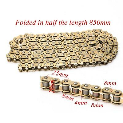DID Gold 428 Chain 136 Links O-ring Chain For Pit Dirt Bike Motorcycle AU Stock