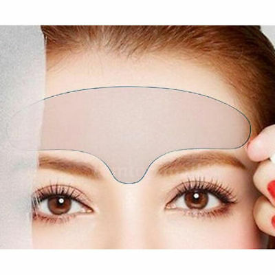 UK Anti Wrinkle Eye Face Pad Reusable Neck Forehead Sticker Silicone HY5F