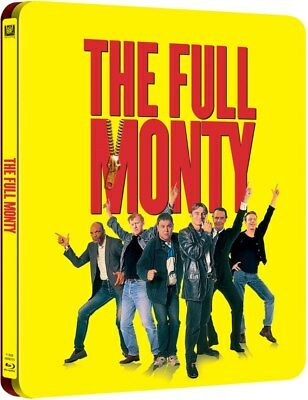 The Full Monty -  Limited Steelbook BLU-RAY DISC! Robert Carlyle, BRAND NEW!