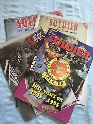 Soldier Magazine 1945-1995, Fifty Years On Commemorative Set