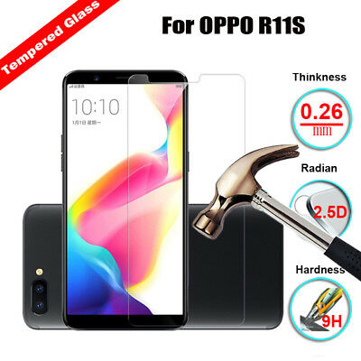 Tempered Glass Film Screen Protector For OPPO A37 F3 F5 R7 R9 R9S R11 R15 Phones