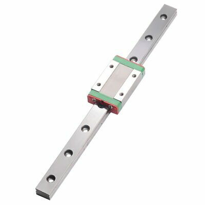 CNC part MR9 9mm linear rail guide MGN9 length 450mm with mini MGN9h Block