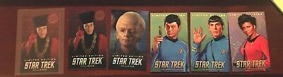 Dave and Buster Star Trek Limited Edition Lot! You Pick The Original Series