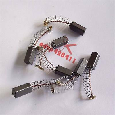 10Pcs Electric Drill Motor Carbon Brushes 14 x 6 x 6mm New