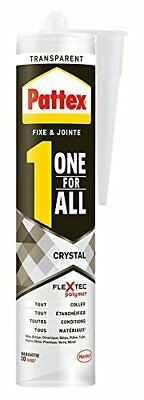 Pattex Colle de fixation One For All Crystal - 290 g - Transparent lot de 2 NEUF