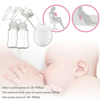 USB 2 Smart Silicone Automatic Electric Suction Pump Breastpump Baby Feeding