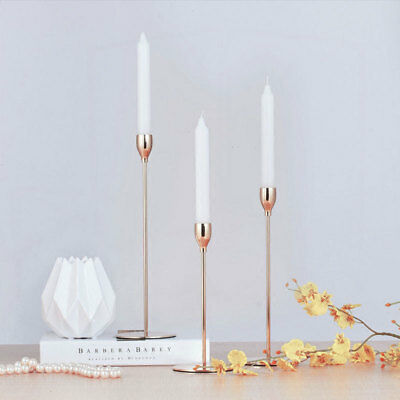 Nordic Style Candlestick Pillar Taper/Dinner Votive Candle Tealight Table Holder