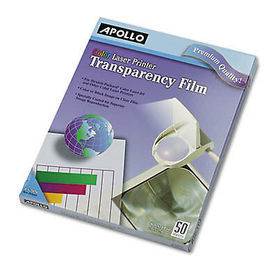 Color Laser Transparency Film, Letter, Clear, 50/Box CG7070