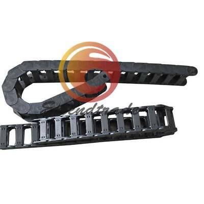 "15*20mm Cable drag chain wire carrier R28 1000mm (40"")"