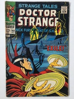 Marvel Doctor Strange Tales Comic Vol 1 No 168 From May 1968