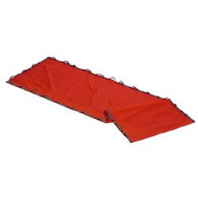 Red Transtex Ultra Glide Slide Sheet With Handles Durable Rectangular 200 x 90cm