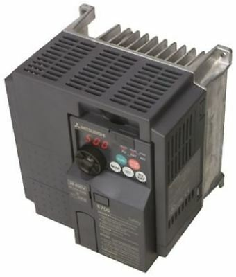 Mitsubishi FR-E740 Inverter Drive 0.4 kW, 0.2 â?? 400Hz Out