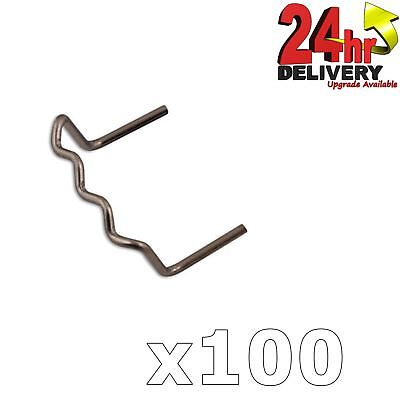 Power-Tec Stainless Steel Right Angle U Shape Staples 0.8mm 100pcs