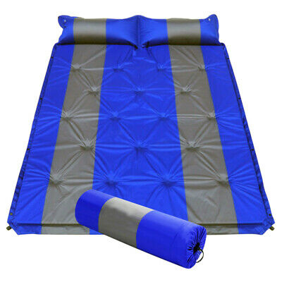 Portable Camping Hiking Double Mat Mattress Camp Sleeping Bed Gears 1.32M X 1.9M
