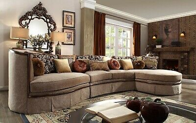 Fantastic Luxury Sectional Sofa Couch Living Room Furniture Curved Gmtry Best Dining Table And Chair Ideas Images Gmtryco