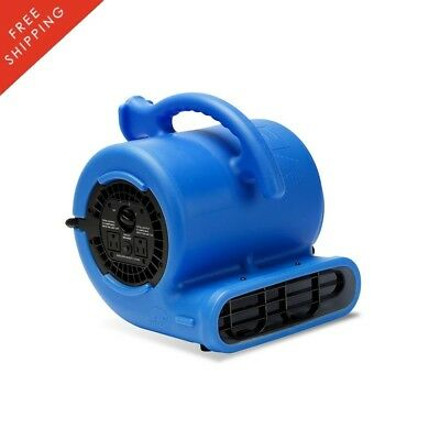 Floor Blower Fan HP Air Mover Water Damage Restoration Carpet Dryer Plumbing Use