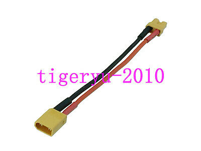 1pce XT30 Male to Female Extension cable 18AWG 10CM Wire For Battery