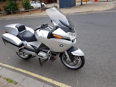 2009 59 BMW R1200RT, ABS ASC, R 1200 RT, 28k MILES ONLY!! SILVER, EX POLICE, FSH