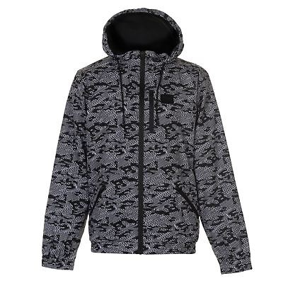 0661a73d8d64 Everlast Mens Bubble Jacket Padded Winter Warm Hooded Double Full Zip Top