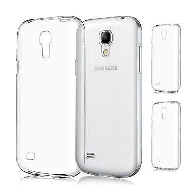 Custodia Silicone TPU Gel Trasparente per Samsung Galaxy S4 Mini S4 Ultra Thin