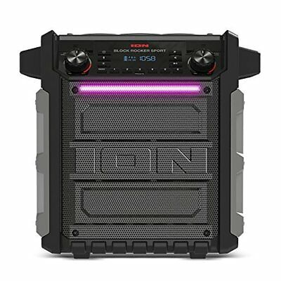 ION Pathfinder  Rechargeable All Weather Bluetooth Speaker Mic