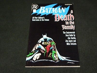 1988 DC Batman A Death in the Family 4 Issues in 1 - Signed by Jim Aparo