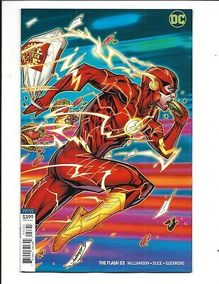 FLASH # 53 (DC Universe, JONBOY MEYERS VARIANT COVER, Oct 2018), NM NEW